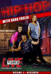 Hip-Hop Volume I with Dana Foglia DVD - Style No VVTZ25HH1