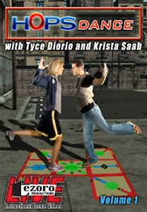 HOPSDance Volume I with Tyce Diorio and Krista Saab DVD - Style No VVTZ26HD1