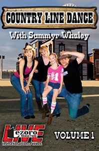 Country Line Dance Volume I with Summyr Whaley DVD - Style No VVTZ27LD1