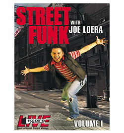Street Funk Volume I with Joe Loera DVD - Style No VVTZ29SF1