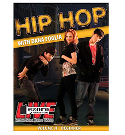 Hip-Hop Volume II with Dana Foglia DVD - Style No VVTZ31HH2