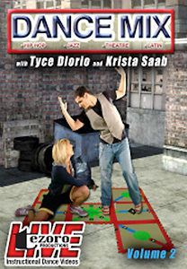 Dance Mix Volume II with Tyce Diorio and Krista Saab DVD - Style No VVTZ33DM2
