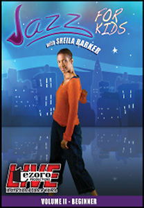 Jazz For Kids Volume II with Sheila Barker DVD - Style No VVTZ40JSB2