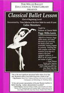 Classical Ballet Lesson - End of Beginning Level DVD - Style No WB03DVD