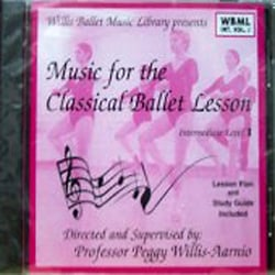 Music for the Classical Ballet Lesson - Intermediate Vol. 1 CD - Style No WB10