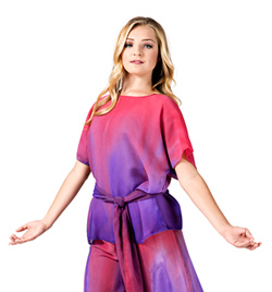 Plus Size Worship Short Sleeve Tunic - Style No WC102P