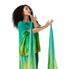 Worship Finger Drape with Elastic Loop - Style No WC108