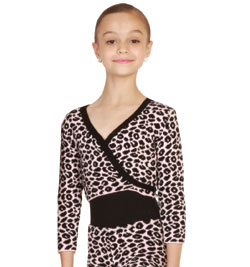 Child  Leopard Print Sweater - Style No WCL100