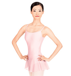 """Sissi"" Adult V-Back Camisole Dance Dress - Style No WM117"