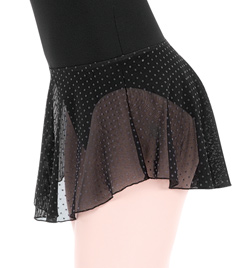 "Adult ""Kora"" Swiss Dot Pull-On Skirt - Style No WM134"