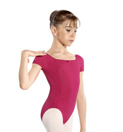 "Girls ""Grace"" Short Sleeve Leotard - Style No WM146C"