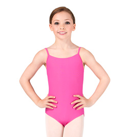 """Diane"" Girls Camisole Leotard - Style No WM172C"