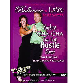 Ballroom and Latin Dance Sampler DVD - Style No XI1234