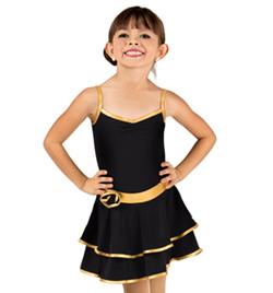 Child Camisole Ballroom Dress - Style No Y1708P