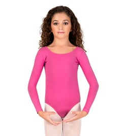 Child Long Sleeve Leotard - Style No Y4552C