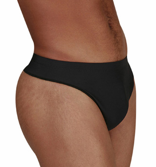 Mens Dance Belt with Thong Back - Style No 1007
