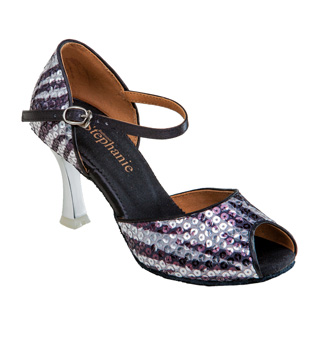 Ladies Latin/Rhythm Ballroom Shoe w/2.5 Inch Heel - Style No 12077