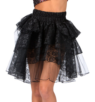 Adult Lace Tutu Bustle - Style No 143841Ax
