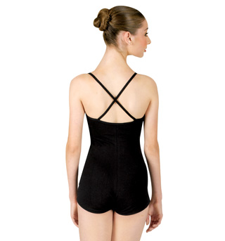 Shorty Unitard with Criss-cross Straps - Style No 1505