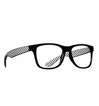 Geek Chic Black Glasses - Style No 23282BLK