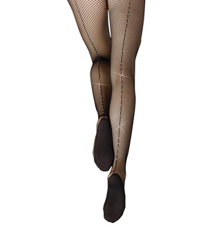 Rhinestone Fishnet Tights - Style No 3002x