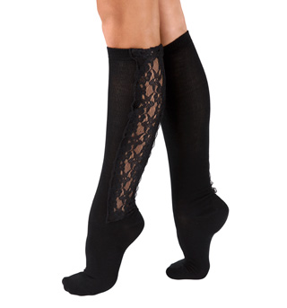 Adult Lace Knee High Socks - Style No 32117