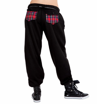 Plaid Pocket Sweatpant - Style No 3800PLDx