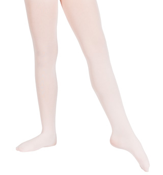 Girls Ultrasoft Microfiber Footed Tights - Style No 387