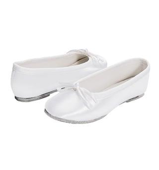 Girls Full Sole Satin Ballet Flat - Style No 435