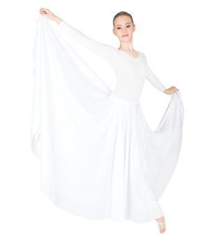 Plus Size Triple Panel Praise Wear Skirt - Style No 599XX