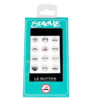 Stache LE BUTTON Mustache - Style No 61101x