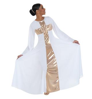 Plus Size Worship Long Cross Dress - Style No 620XX