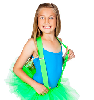 Neon Green Suspenders - Style No 67780