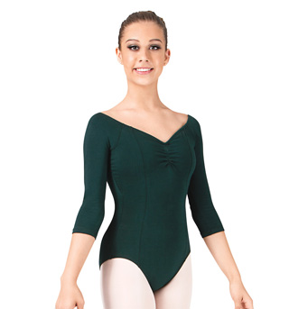 Adult 3/4 Sleeve Leotard - Style No 7121