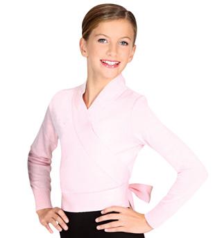 Child Wrap Sweater - Style No 72523C