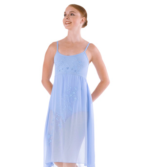 Adult Glitter Screened Camisole Dress - Style No 7798x