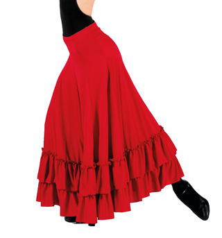 Adult Flamenco Skirt - Style No 9100