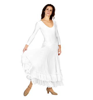 Adult Long Sleeve Flamenco Dress - Style No 9120