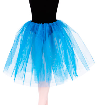 Adult Long Juliet Tutu - Style No 9830