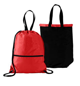Reversible Drawstring Dance Bag - Style No AUG167