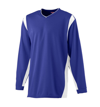 Adult Long Sleeve Warmup Shirt - Style No AUG4600