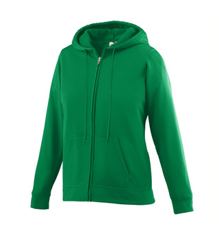Girls Fleece Full Zip Hooded Sweat Shirt - Style No AUG5526