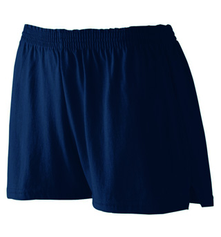 Ladies Plus Size Jersey Shorts - Style No AUG987P