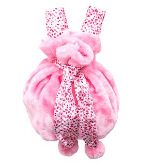 Kids Fluffy Convertible Bag - Style No B111C