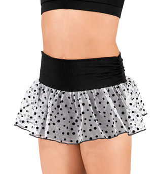 Girls Skort with Overlay - Style No B3018