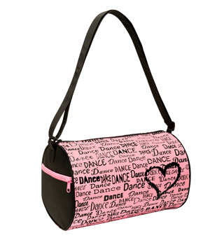 Dance is in My Heart Duffle Dance Bag - Style No B415