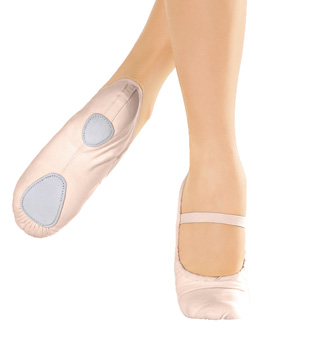 Girls Canvas Split Sole Ballet Slipper - Style No BA23C