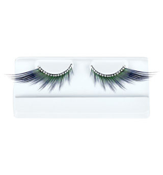 Winged Lashes with Rhinestone Band  - Style No BH607x
