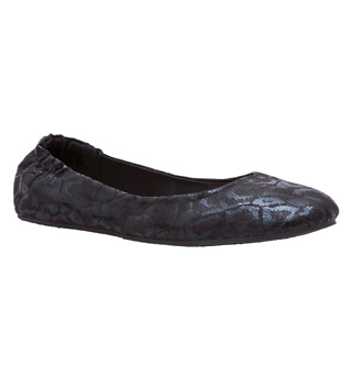 "Ladies ""Club 54"" Roll-Up Ballet Flat - Style No BR008"