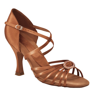 "Ladies ""Stella"" 3"" Latin/Rhythm Ballroom Shoe - Style No BR1921"